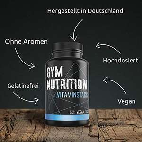 [Amazon] Gym-Nutrition Multivitamin