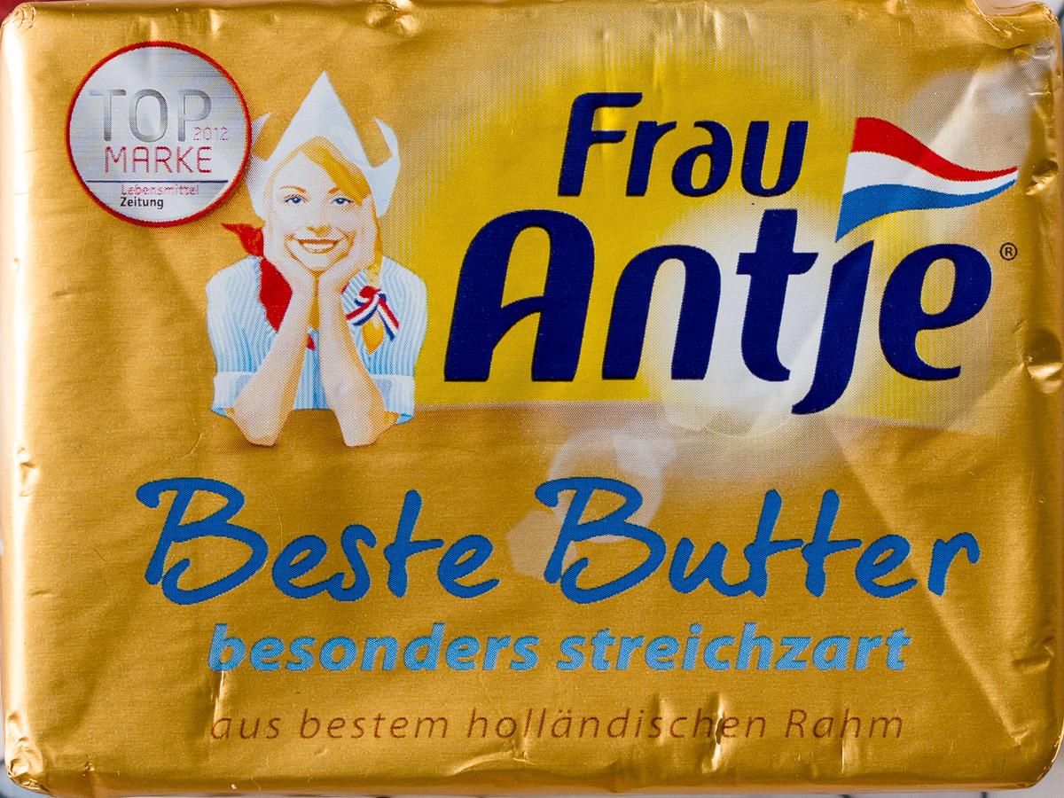 Lidl - Frau Antja Butter 1,25 Euro