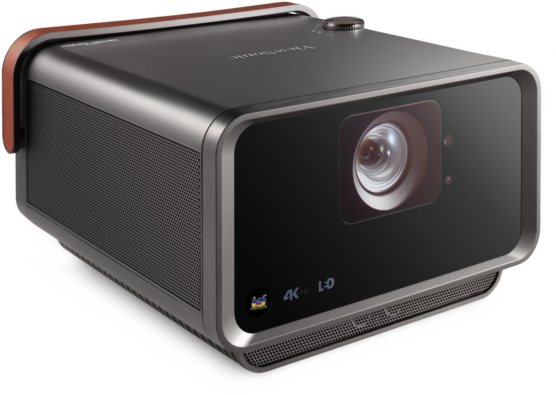 UHD-Beamer Viewsonic X10-4K (nativ 1920x1080 mit Pixel Shift, DLP, LED, 2400 Lumen, HDR, 2x HDMI 2.0, LAN, WLAN, BT 4.0, USB, Netflix, 30dB)