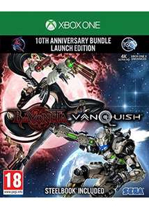 Bayonetta & Vanquish: 10th Anniversary Bundle - Launch Edition inkl. Steelbook (Xbox One) für 30,58€ (Base.com)