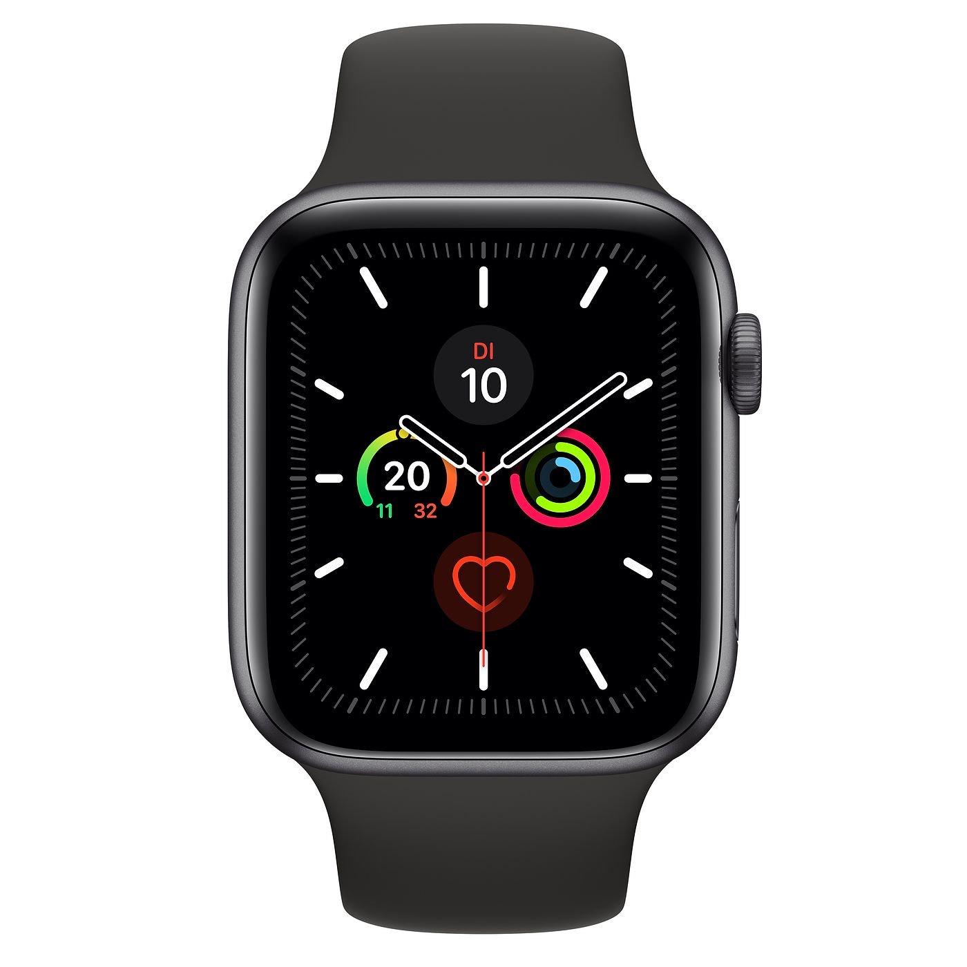 Apple Watch Series 5 44mm Space Grau GPS - Lokal (alle Cyberport Stores)