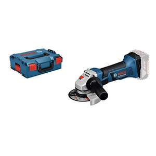 Bosch Professional 18V System Akku Winkelschleifer GWS 18-125 V-LI ohne Akkus und Ladegerät, in L-Boxx)
