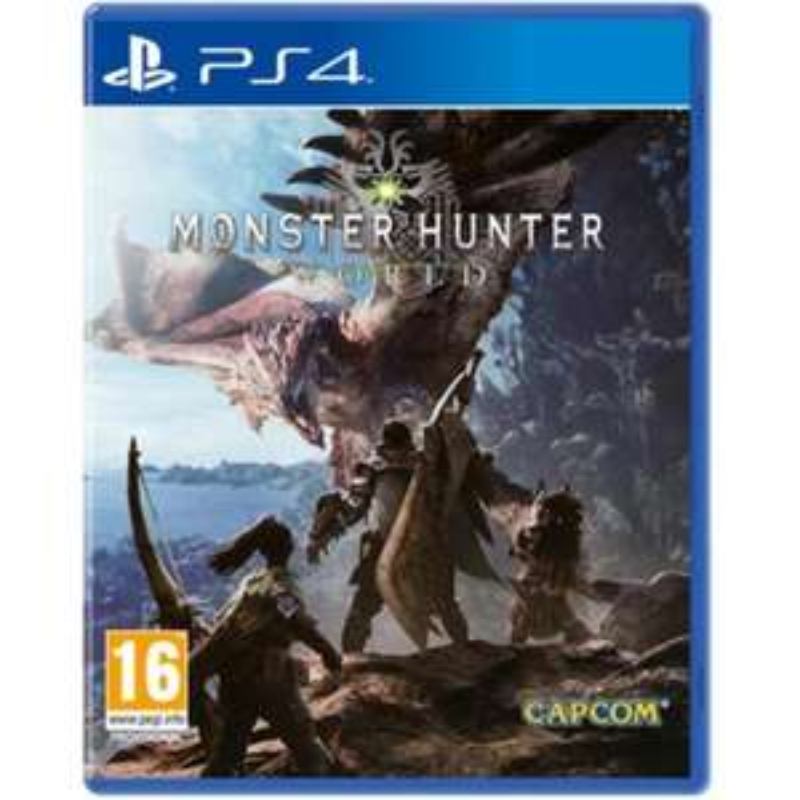 Monster Hunter World (PS4) für 16,13€ (Mymemory)