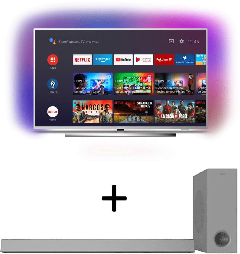 Bundles bei Saturn: z.B. Philips 55PUS7354 + Soundbar Philips HTL3325 - 699€ | Sony KD-65XG9505 + Xbox One X - 1444€