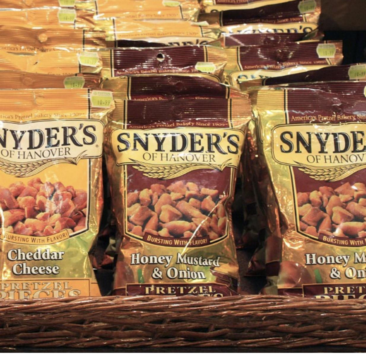 [Penny] Snyder's Pretzel Pieces 125g für 1.29€ ab Montag 02.03.2020