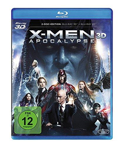 X-Men: Apocalypse 3D (Blu-ray 3D + Blu-ray) für 8,44€ (Amazon Prime)