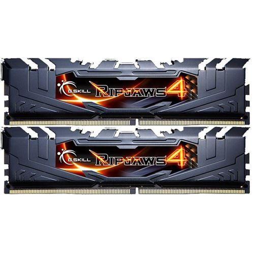 G.Skill 8 GB RipJaws 4 schwarz DDR4-3200 DIMM CL16 Dual Kit