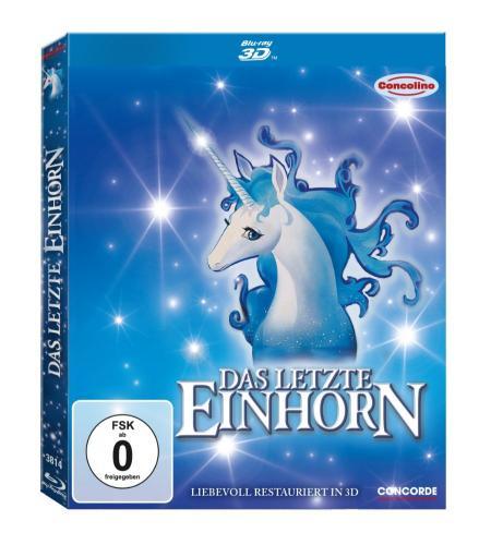 Das letzte Einhorn (inkl. 2D Version + magnetischem 3D-Wackelbild) [Blu-ray 3D] für 9.97 € @ Amazon.de