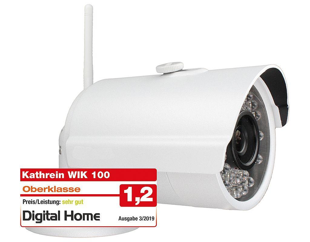 Kathrein WIK 100 - WLAN-IP Überwachungskameras mit Bewegungserkennung & Nachtsicht