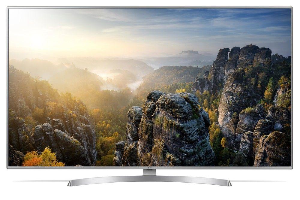 LG 55UK6950 4K Ultra HD TV (55 Zoll, Smart TV, HDR, WLAN, Aufnahmefunktion, Triple-Tuner [Expert]