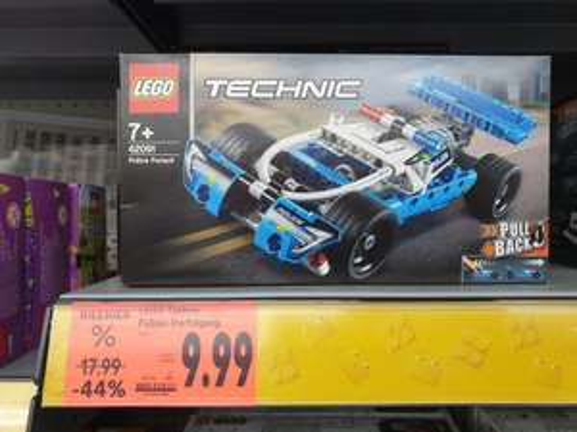 Lokal Erlangen Handelshof - Lego 42091 Technic Polizeiverfolgung