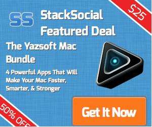 Das Yazsoft Mac Bundle mit 4 Apps für 25$ (18,91€) - 50% Gespart