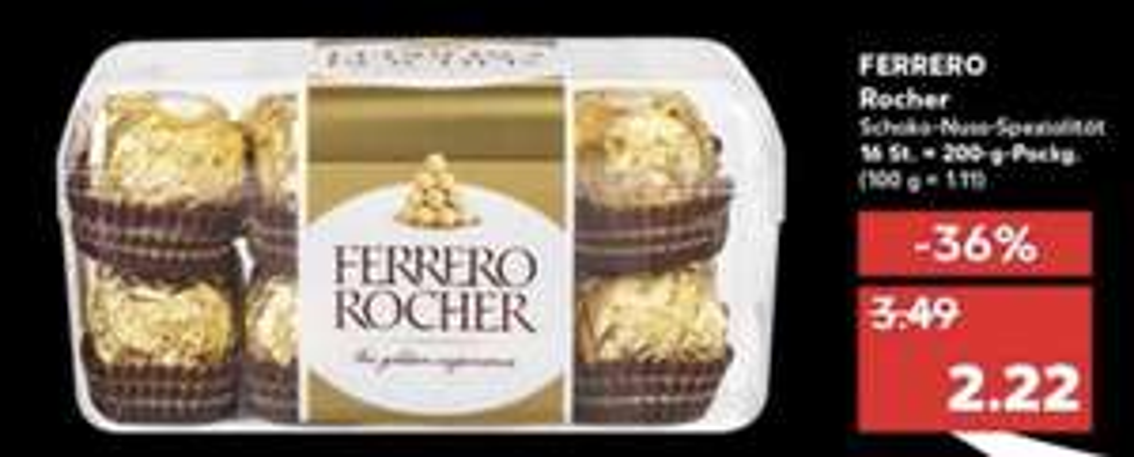 Kaufland: Ferrero Rocher