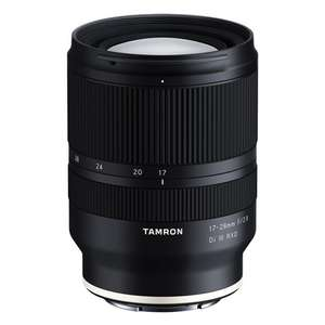 Tamron 17-28 mm F/2.8 Di III RXD Sony E Mount EF Sony