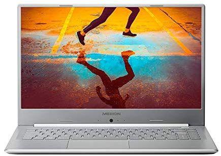 "MEDION S6445 Notebook (15.6"" FHD IPS, i7-8565U, 8GB RAM, 512GB SSD, Schnellladefunktion, Win10 Home, Slim Bezel)"