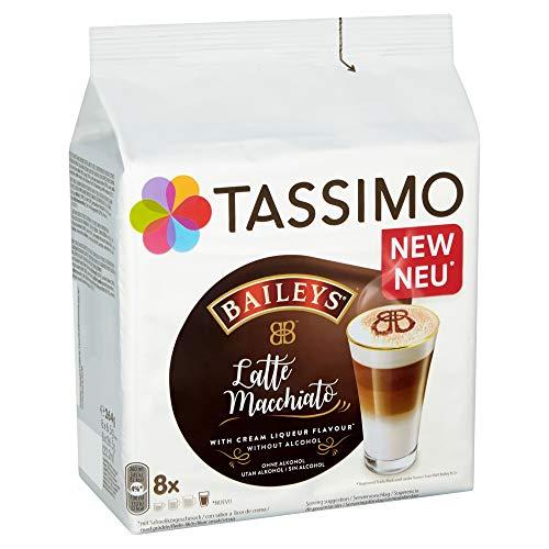 Tassimo Kapseln Latte Typ Macchiato Baileys, 40 Kaffeekapseln