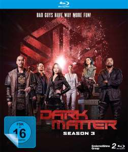 Dark Matter - Die komplette 3.Staffel (Blu-ray) für 8,52€ (Amazon Prime)