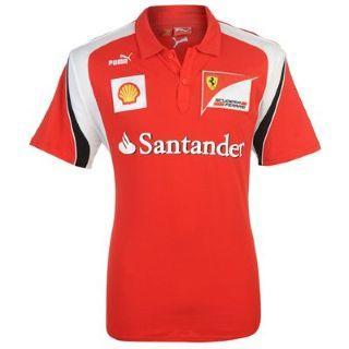 [Sportsdirect] Scuderia Ferrari Polo-Shirt  mit 50% Ersparnis