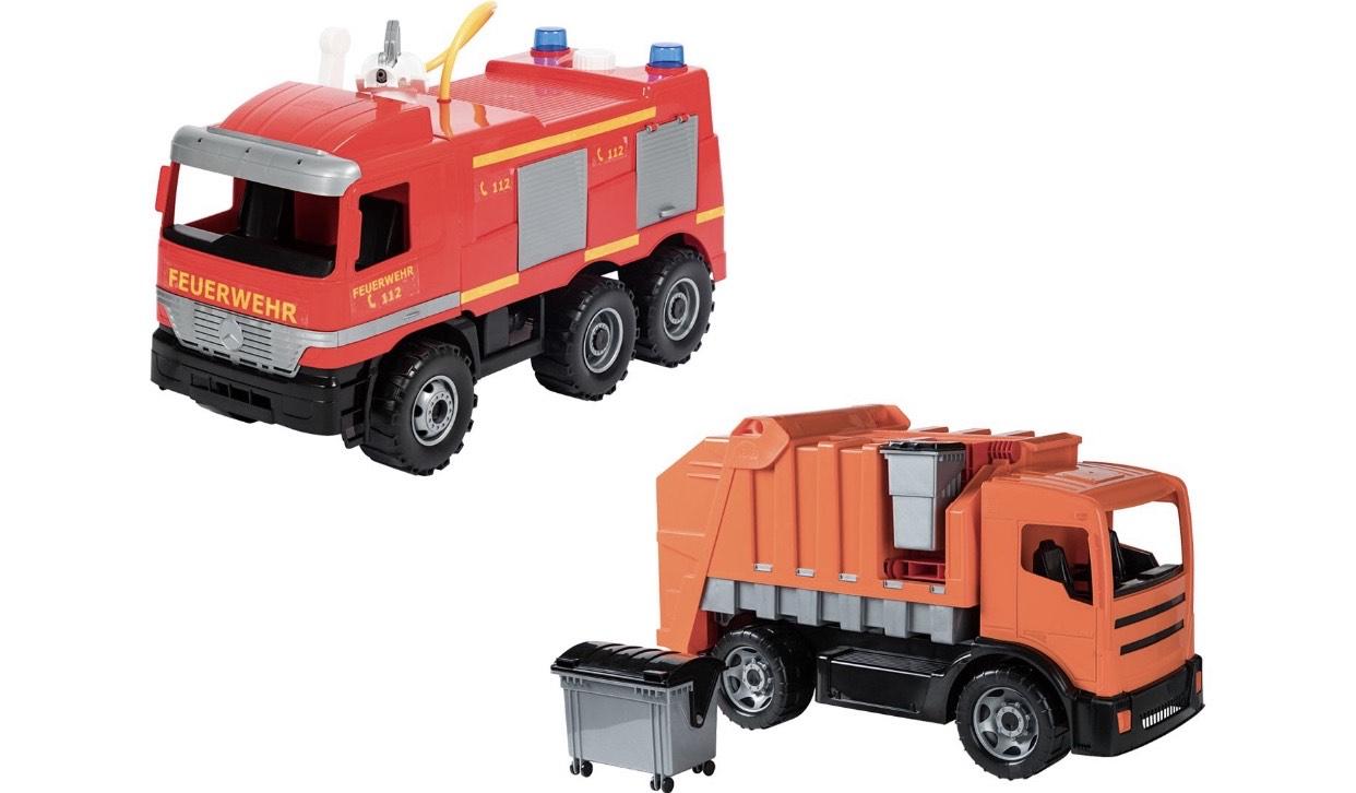 Lena Starke Riesen Müllauto Feuerwehr Actros