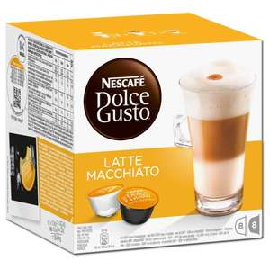Nescafé Dolce Gusto Kaffeekapseln, verschiedene Sorten Latte Macchiato, Cappuccino, Chococino...8 Kapseln, versandkostenfreie Lieferung