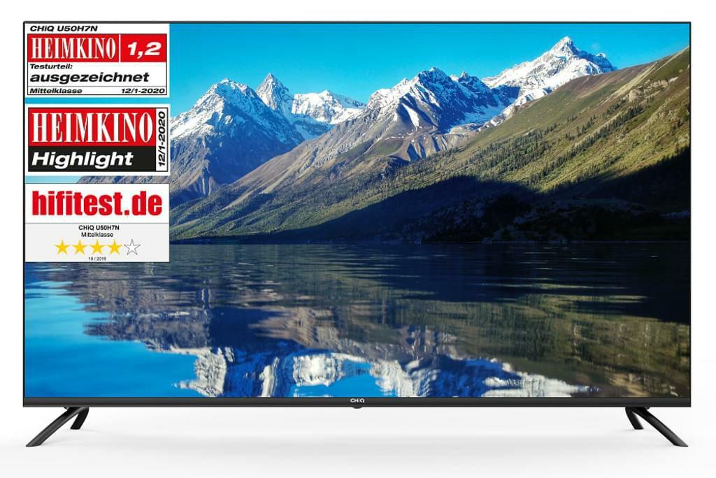 CHIQ U50H7 4k UHD Smart TV, HDR