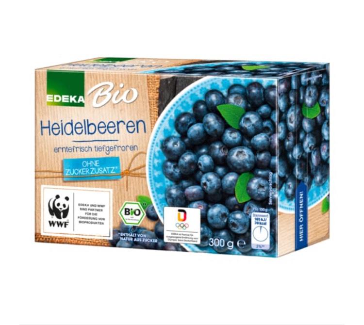 300gr. Bio TK Heidelbeeren für 1,49€ durch Angebot & Gutschein [EDEKA Minden-Hannover]
