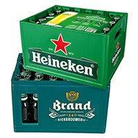 (GRENZGÄNGER NL) AlbertHeijn - 1 Kiste 24x0,3L Heineken 9,99 + Pfand 3,90