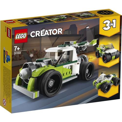 LEGO Creator - 3 in 1 Raketen-Truck-Geländewagen-Quad