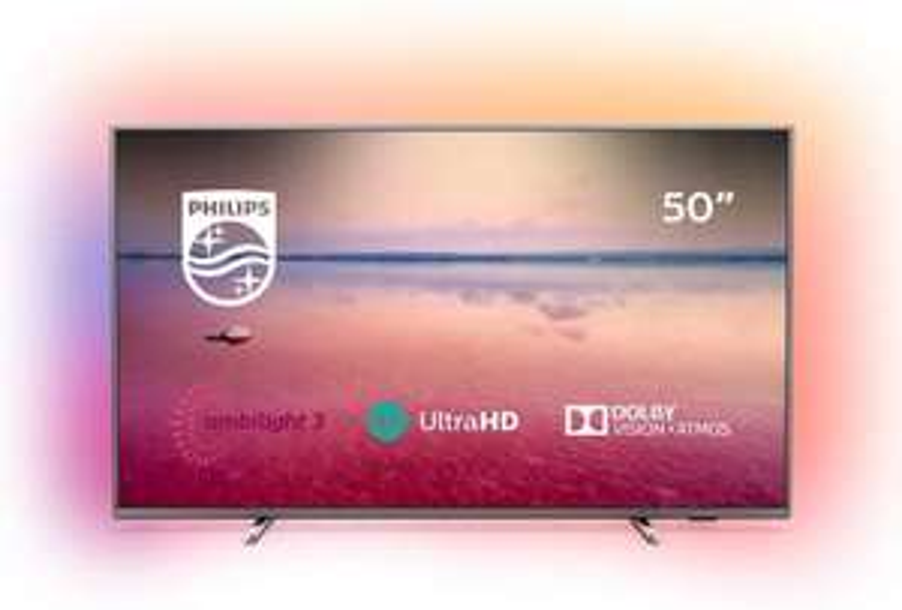 Philips LED TV 50PUS6754 126 cm (50 Zoll), 4K Ultra HD, Smart TV, HbbTV [Amazon]