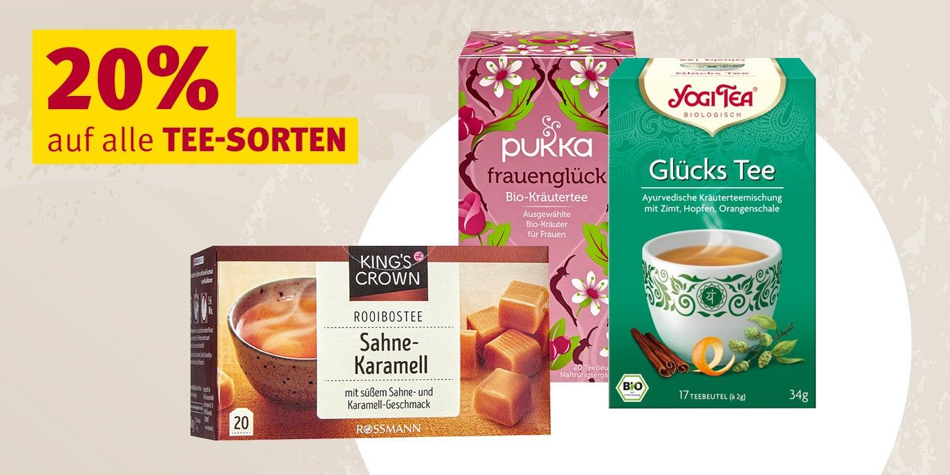 [Rossmann Angebote KW 10] 20% auf alle Tees