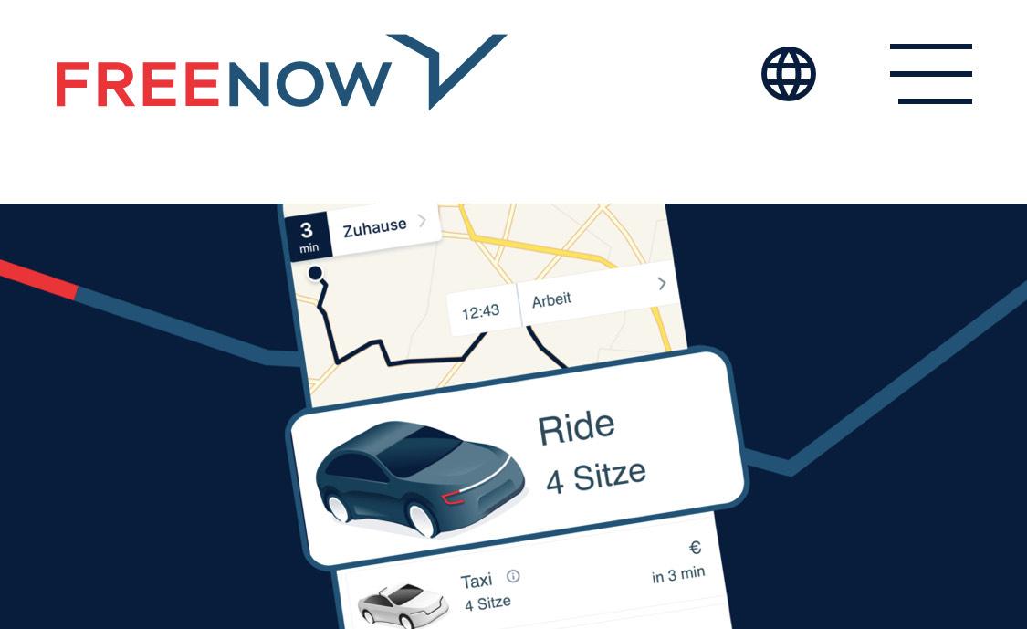 FreeNow Ride 7€ Rabatt - Neukunden