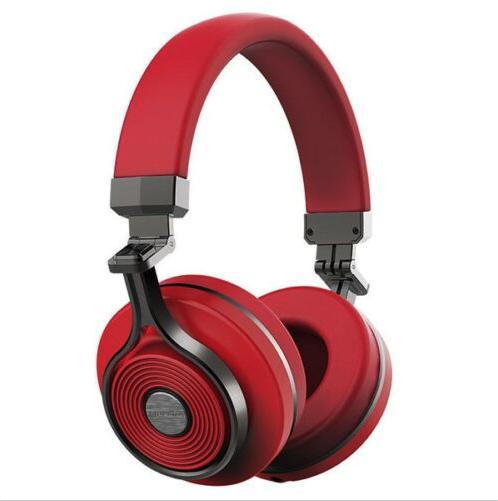 Bluedio T3 Bluetooth Kopfhörer Wireless Rot