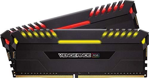 Corsair Vengeance RGB 16GB (2 x 8GB) DDR4 2666MHz C16 XMP 2.0 Enthusiast RGB LED-Beleuchtung Speicherkit