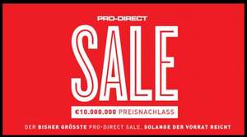 SALE bei PRODIRECTSOCCER.COM
