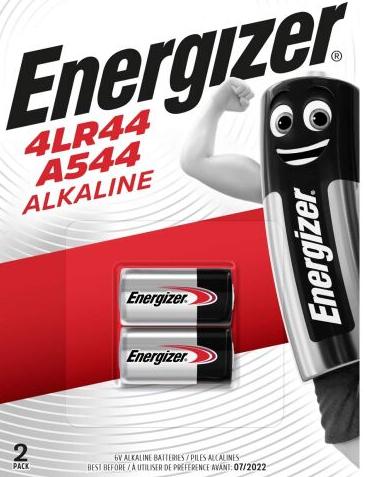 Energizer A544 4LR44 6V (2 Stück) (Amazon Prime)