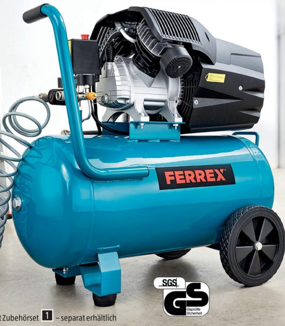 [Lokal Aldi Süd] Ferrex Druckluft Kompressor 50 l