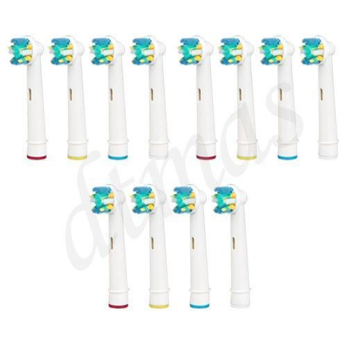 12X Aufsteckbürsten für Oral B Elektrische Zahnbürste für 10,69€ inkl. Versand