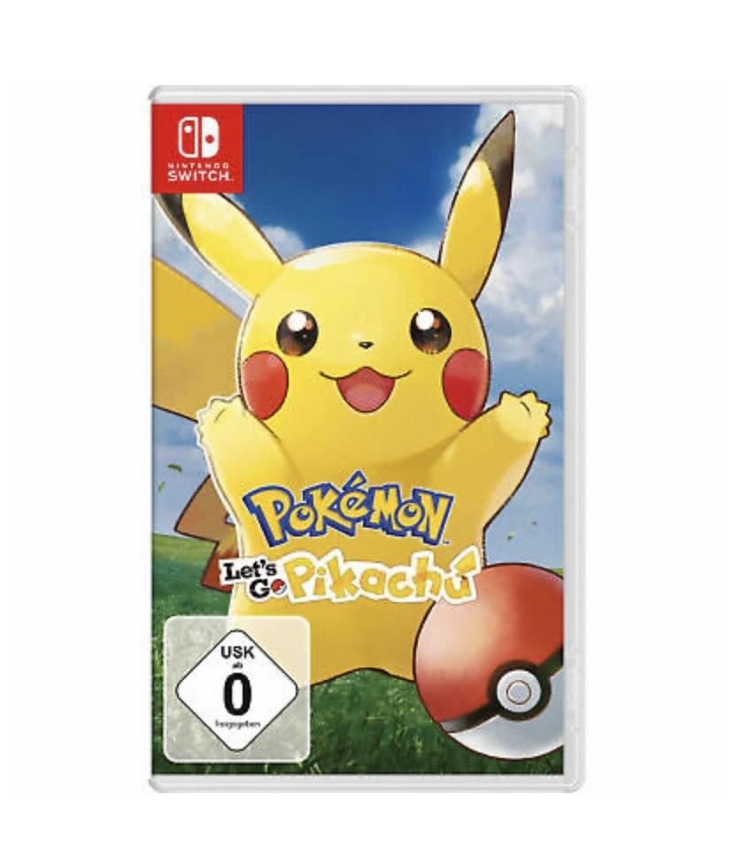Nintendo Switch - Pokémon Let's Go Pikachu/Evoli