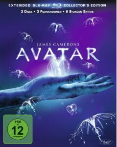 Avatar - Aufbruch nach Pandora Extended Collector's Edition (3 Discs Blu-ray) für 5,32€ (Dodax)