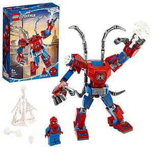 LEGO Marvel Super Heroes - Spider-Man Mech (76146) für 6,97€ (Amazon Prime & Real)