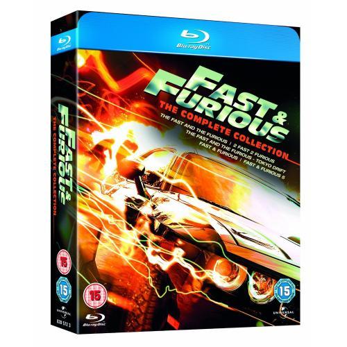 Fast & Furious 1-5 Box Set [Blu-ray] für 17,44 €