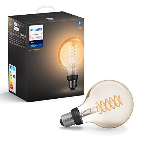 [Amazon Prime] Philips Lighting Hue Weißes Filament G93 Glühlampe mit angeschlossenem Flansch