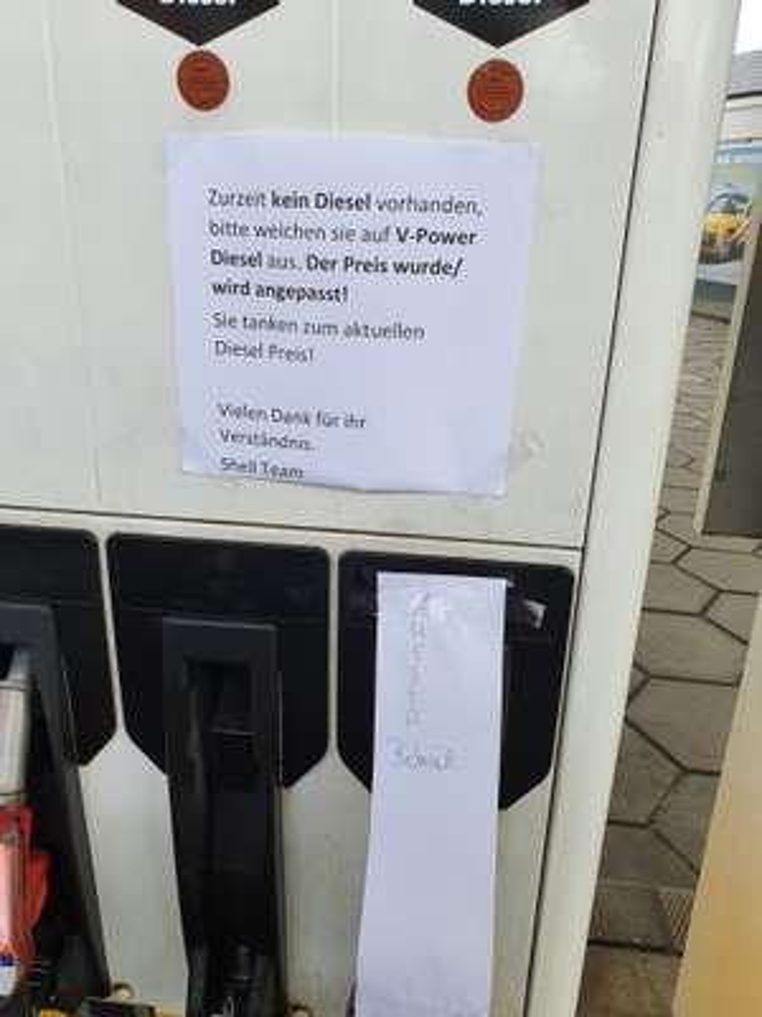 (Lokal - Hamburg Flottbek) V Power Diesel zum Diesel Preis
