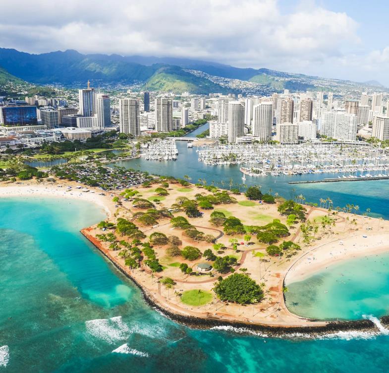 Flüge: Honolulu / Hawaii (März-April) Hin- und Rückflug mit Condor und Hawaiian Airlines von Frankfurt ab 419€
