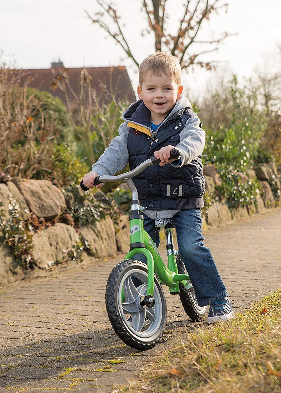Rolly Toys rollyLaufrad Swing (für Kinder von 2-4 Jahre, Metallrohrrahmen, höhenverstellbarer Sitz und Lenker, Klappständer)