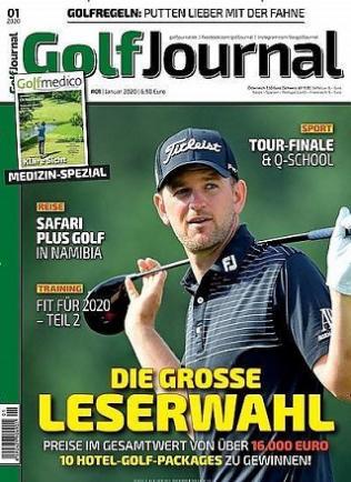 Golf Journal Jahresabo ( 12 Ausgaben ) mit bis zu 85€ Wert Gutschein möglich