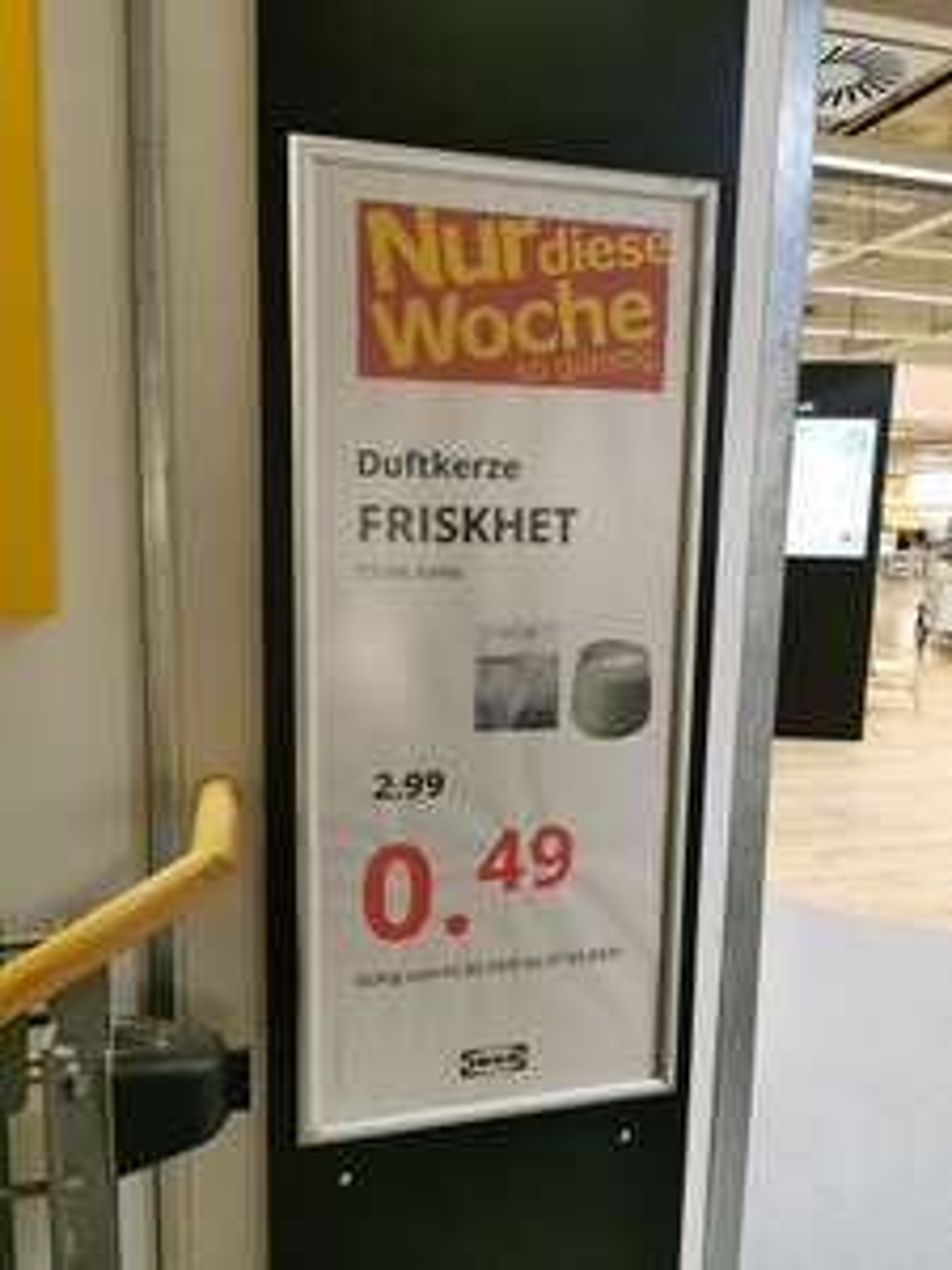 "Lokal Berlin Tempelhof Ikea Duftkerze ""Friskhet 04"""