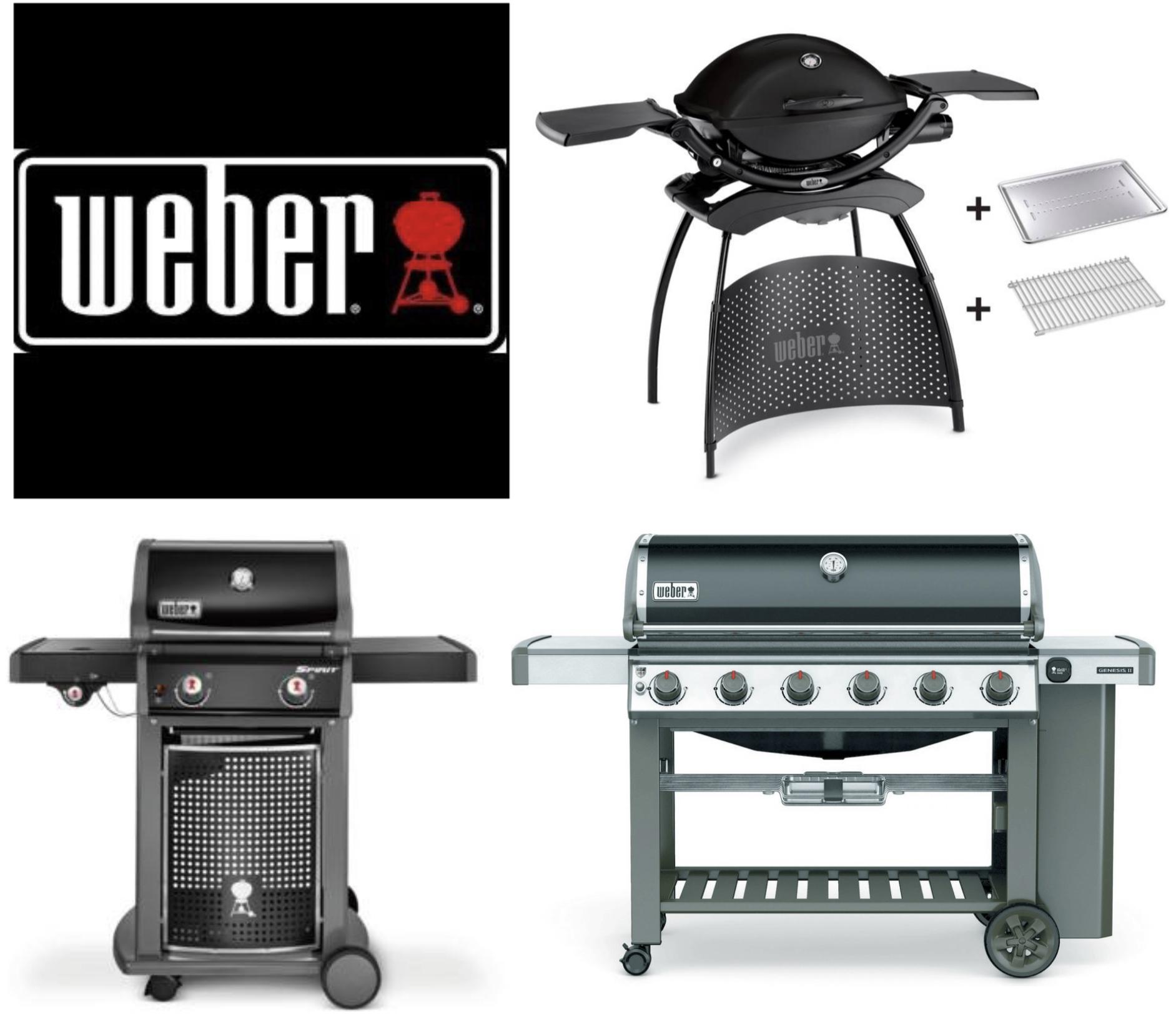 Weber Grills zu guten Preisen z.B. Spirit E-220 Classic für 381,65€ / Q 2200 + Stand + Hitzeschild + Bratenrost für 339,15€ und weitere