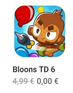 [GRATIS] Bloons Tower Defense 6 (Android + iOS)