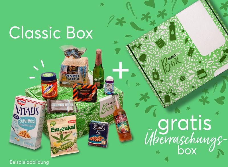 [brandnooz] [Groupon] Classic Box + gratis Überraschungsbox